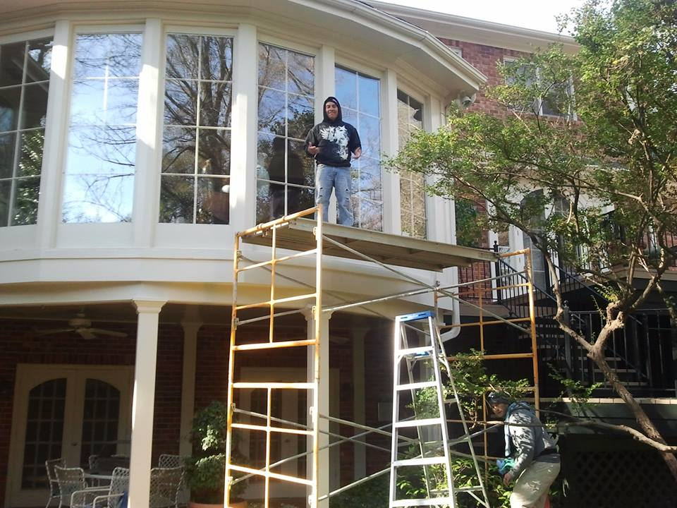 Window washing services in Greenville SC