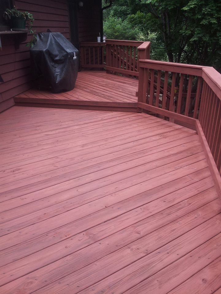 Deck Staining Services In Greenville SC