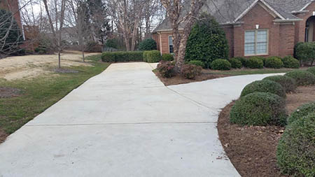 driveway pressure washing in greenville sc