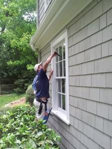 window washing service in Greenville SC